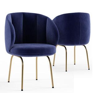 vuelta fd wittmann armchair 3D