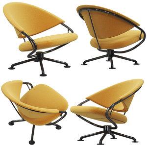 vitra citizen armchair 3D