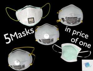 masks 3D model
