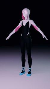gwen spider model