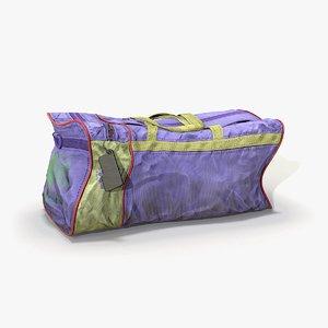 sport bag 3D
