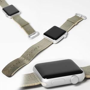 apple iwatch series 3 3D model