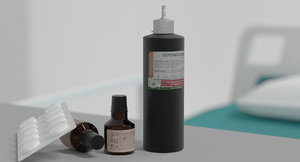 3D iodine peroxide medicine