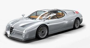 scighera interior engine 3D model