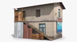 ready slum 3D model