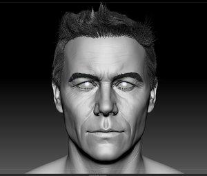 man head model
