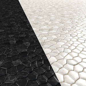 paving stones 2 3D model