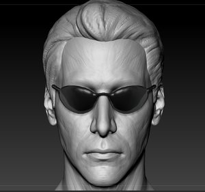 neo head 3D model