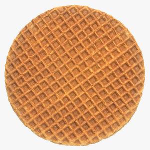caramel waffle 01 model