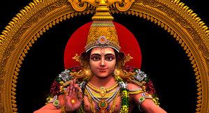 3D sabarimala swami ayyappan
