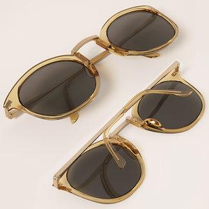 3D h m glasses 2 model