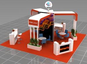 modular fair stand model