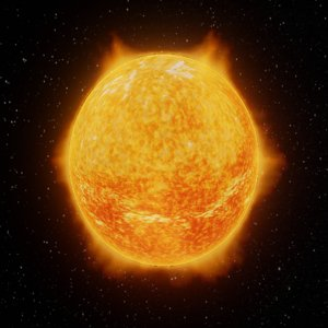 3D sun astronomy science