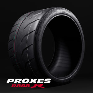 3D model toyo proxes r888r