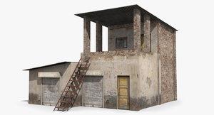 3D ready slum model