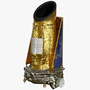 3D model kepler space telescope nasa