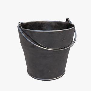 bucket metal 3D