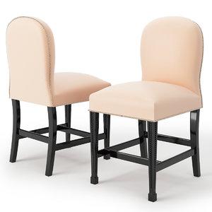 3d model 2063 p chair chelini