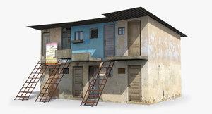 3D model ready slum
