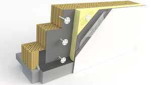 wall thermal insulation model