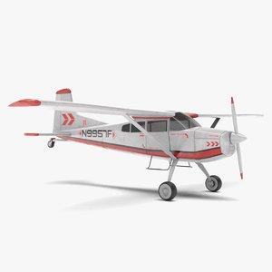 old plane 3D model