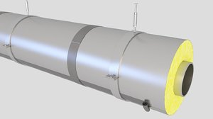 3D pipe insulation
