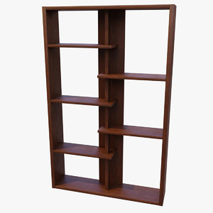 bookshelf book 3D