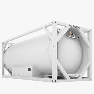 liquefied natural gas 3D model