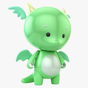 3D model dragon toy