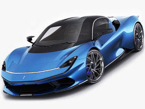 pininfarina battista 2019 3D model
