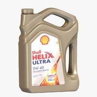Shell Helix Oil Bottle