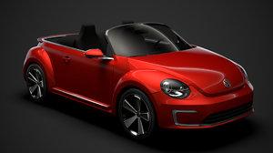volkswagen e bugster speedster 3D model