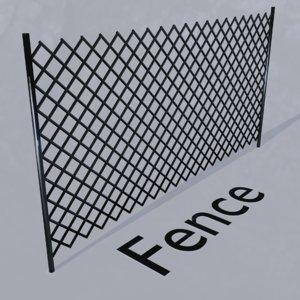 3D barricades fence