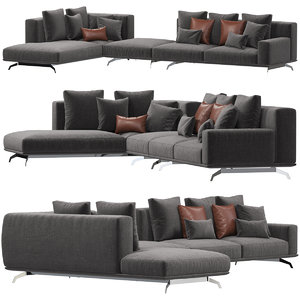 3D ditre italia dalton sofa model
