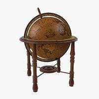 Antique World Globe