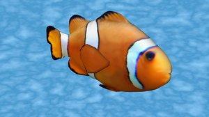 clownfish seabedtrip 3D model