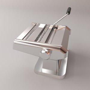 noodle machine 3D model