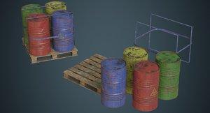 barrel contains 1c 3D
