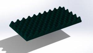 sponge acoustic 3D model