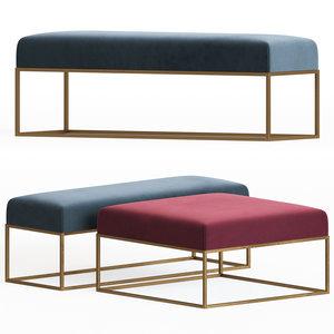 westelm box frame upholstered model