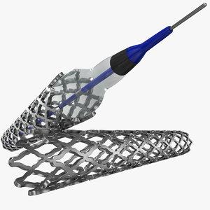 medical stent 3D model