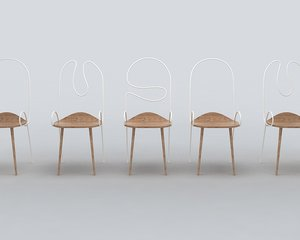 sylph chair deshaus 3D model