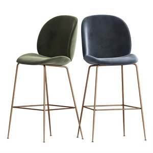 beetle bar chair gubi 3D