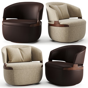3D furniture chair armchair