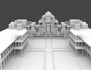 king palace 3D model