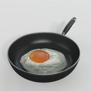 fried egg model