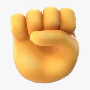 raised fist emoji model