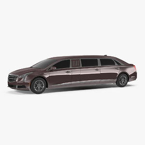 3D door limousine generic simple