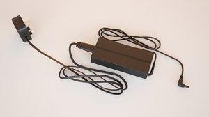 3D power adapter model