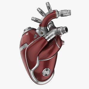 cyber heart 2 organized 3D